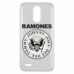 Чехол для LG K10 2017 Ramones - FatLine