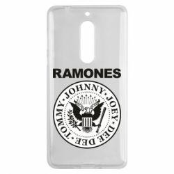 Чехол для Nokia 5 Ramones - FatLine