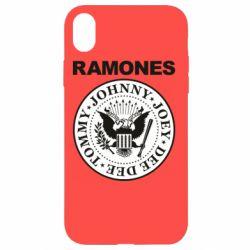 Чохол для iPhone XR Ramones