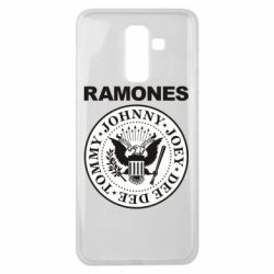 Чохол для Samsung J8 2018 Ramones