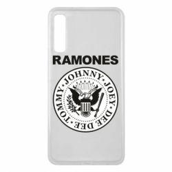 Чохол для Samsung A7 2018 Ramones