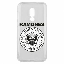 Чехол для Meizu 16 Ramones - FatLine
