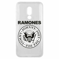 Чехол для Meizu 16x Ramones - FatLine