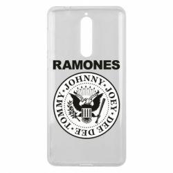 Чехол для Nokia 8 Ramones - FatLine