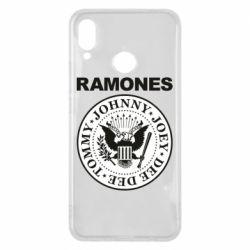Чехол для Huawei P Smart Plus Ramones - FatLine