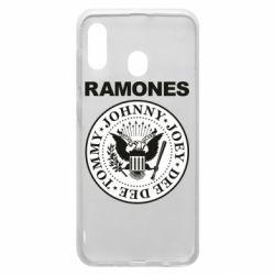 Чохол для Samsung A20 Ramones