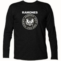 Футболка з довгим рукавом Ramones