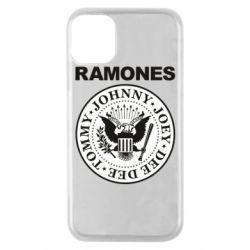 Чохол для iPhone 11 Pro Ramones