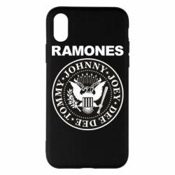 Чохол для iPhone X/Xs Ramones