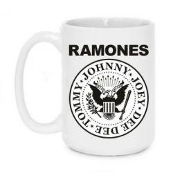 Кружка 420ml Ramones