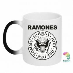 Кружка-хамелеон Ramones