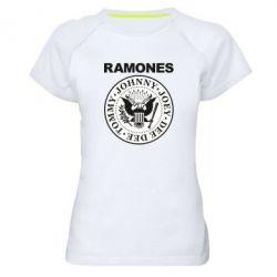 Жіноча спортивна футболка Ramones