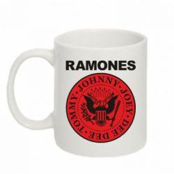 Кружка 320ml Ramones