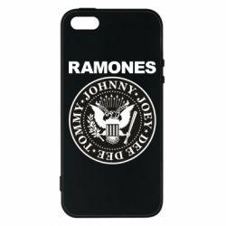 Чохол для iphone 5/5S/SE Ramones