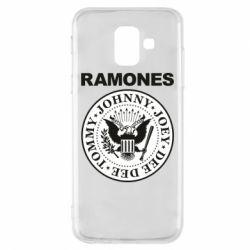 Чохол для Samsung A6 2018 Ramones