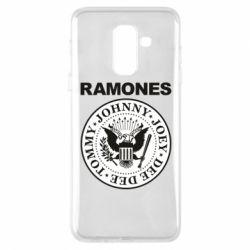 Чохол для Samsung A6+ 2018 Ramones