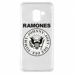 Чохол для Samsung A8 2018 Ramones