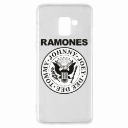 Чохол для Samsung A8+ 2018 Ramones