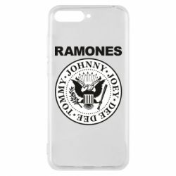 Чехол для Huawei Y6 2018 Ramones - FatLine