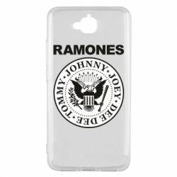 Чехол для Huawei Y6 Pro Ramones - FatLine