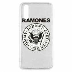 Чехол для Huawei P20 Ramones - FatLine