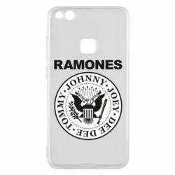 Чехол для Huawei P10 Lite Ramones - FatLine