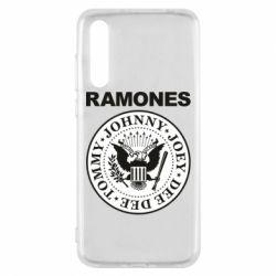 Чехол для Huawei P20 Pro Ramones - FatLine