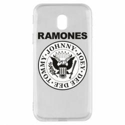 Чохол для Samsung J3 2017 Ramones