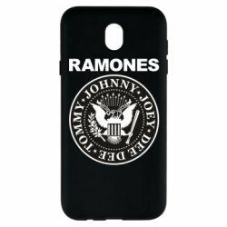 Чохол для Samsung J7 2017 Ramones