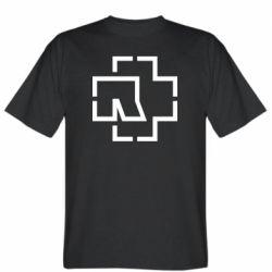 Чоловіча футболка Ramshtain logo