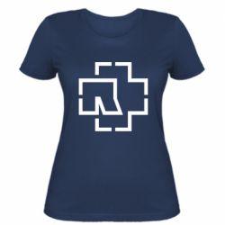 Жіноча футболка Ramshtain logo