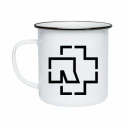 Кружка емальована Ramshtain logo