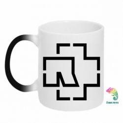 Кружка-хамелеон Ramshtain logo
