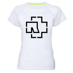 Жіноча спортивна футболка Ramshtain logo