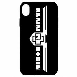 Чехол для iPhone XR Ramshtain print