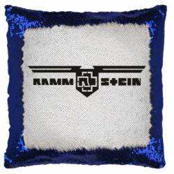 Подушка-хамелеон Ramshtain print