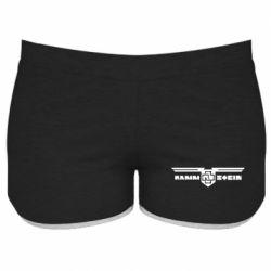 Женские шорты Ramshtain print