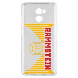 Чехол для Xiaomi Redmi 4 Ramstein and wings