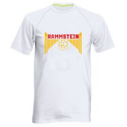 Чоловіча спортивна футболка Ramstein and wings