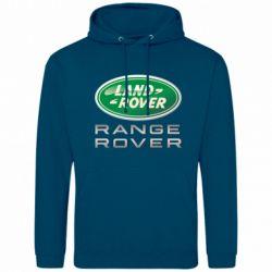 Мужская толстовка Range Rover Logo Metalic - FatLine