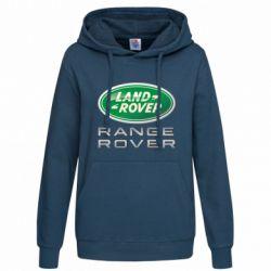 Женская толстовка Range Rover Logo Metalic - FatLine