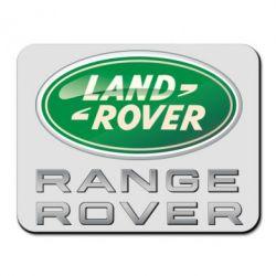 Коврик для мыши Range Rover Logo Metalic - FatLine