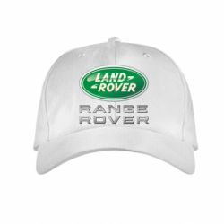 Детская кепка Range Rover Logo Metalic - FatLine