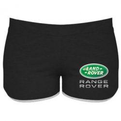 Женские шорты Range Rover Logo Metalic - FatLine