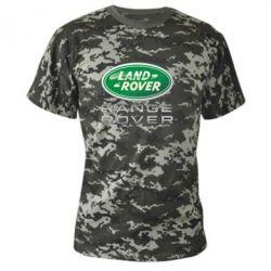 Камуфляжная футболка Range Rover Logo Metalic