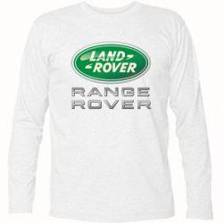 Футболка с длинным рукавом Range Rover Logo Metalic