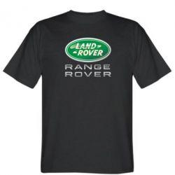 Мужская футболка Range Rover Logo Metalic - FatLine