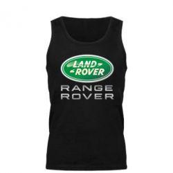 Мужская майка Range Rover Logo Metalic - FatLine