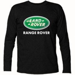 Футболка с длинным рукавом Range Rover - FatLine