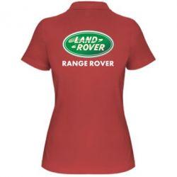 Женская футболка поло Range Rover - FatLine